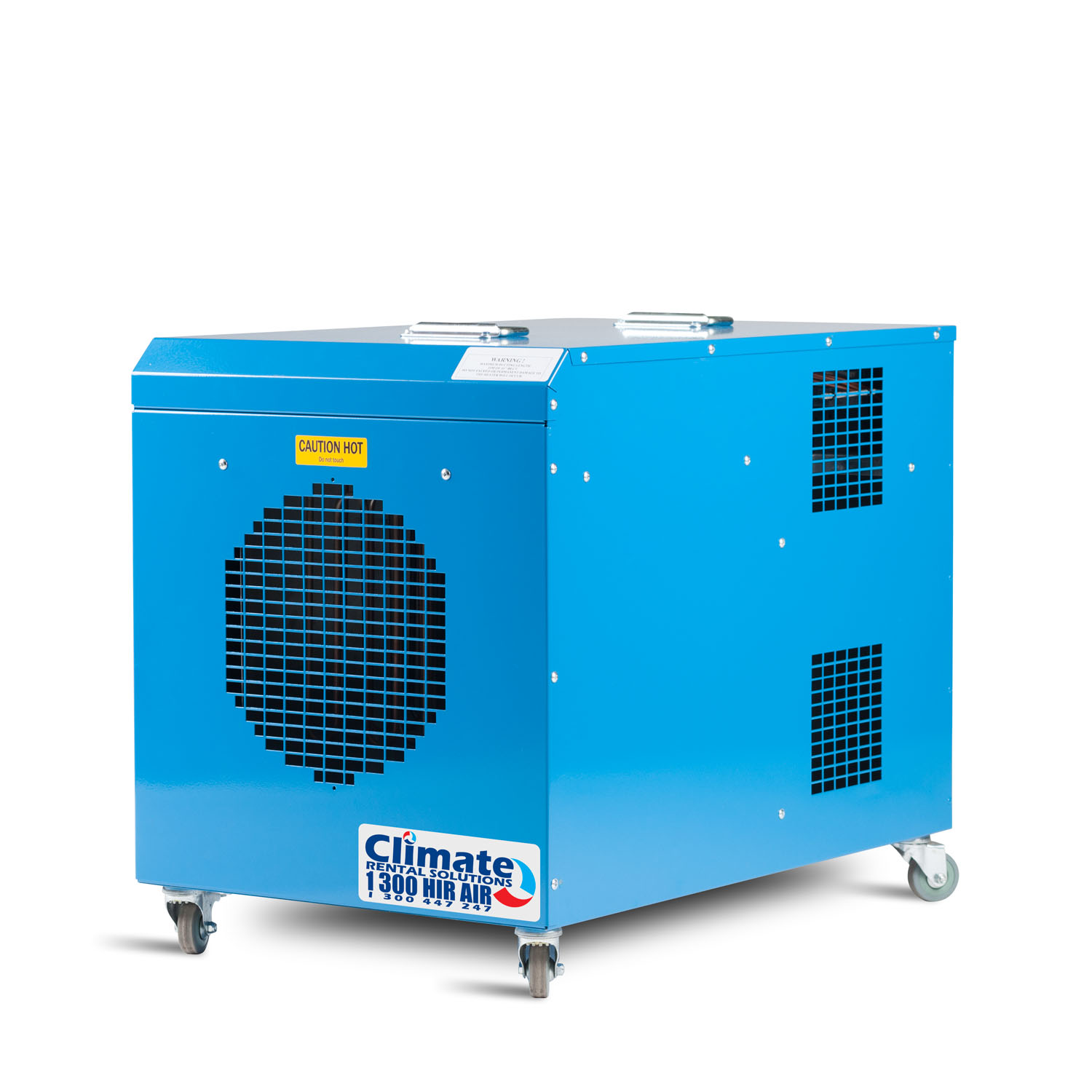 Industrial electric heaters for hire and sale. Climate Rental  #058CC6