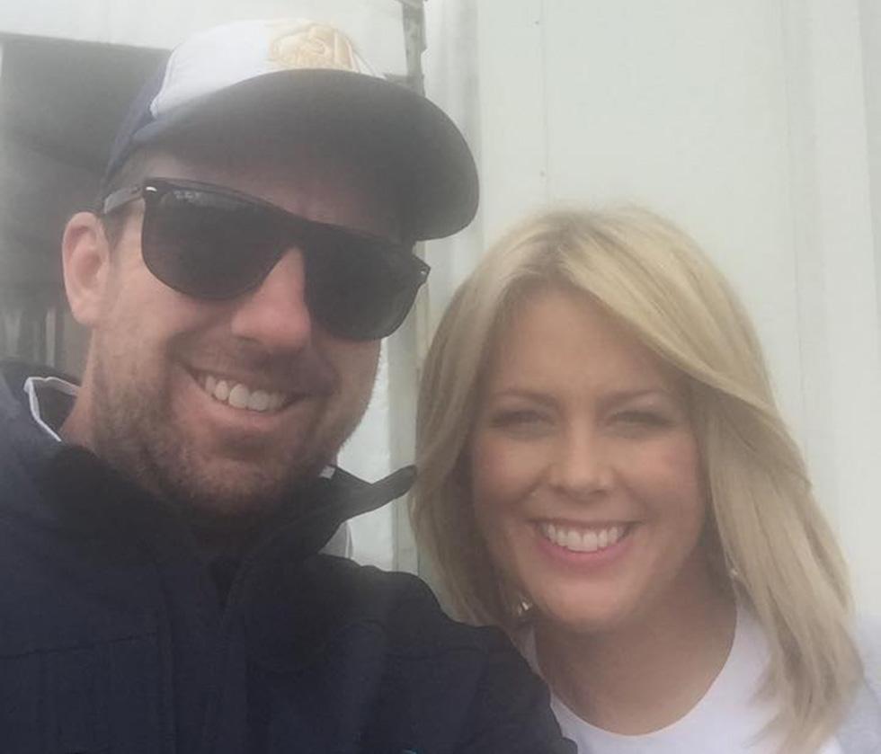 TV stars keep cool at the Australian Open