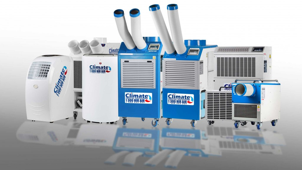 Portable Air Conditioners at Climate Rental Solutions