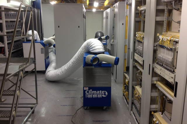 Cooling a large server room in Melbourne CBD